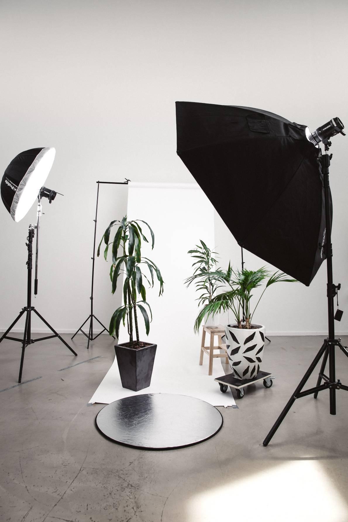 Studio von professionellen Fotografen mit Webseite von Marketing Agentur